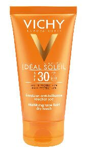 Vichy Idéal Soleil, Mattifying face fluid dry touch.